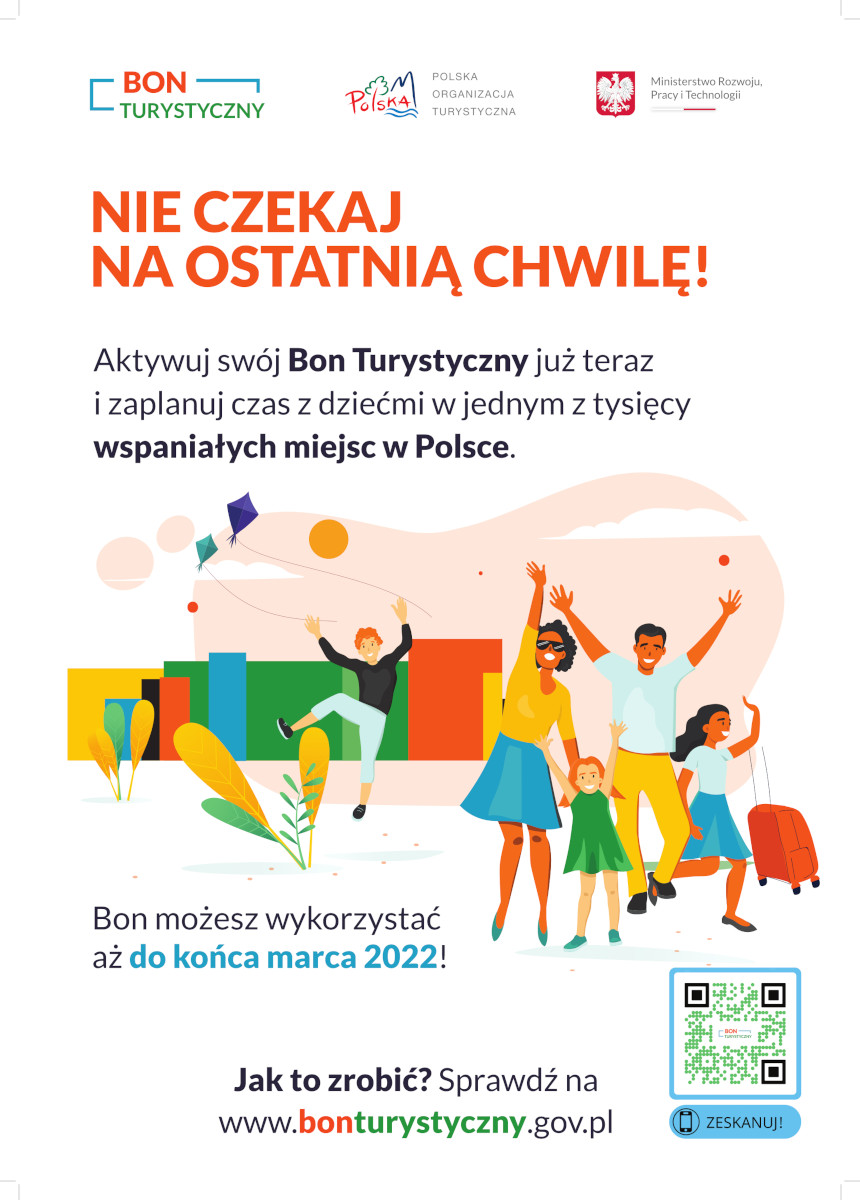 Polski Bon Turystyczny - Plakat